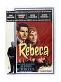 Rebecca, A Mulher Inesquecível Posters
