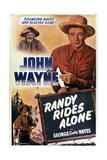 Randy Rides Alone Poster