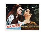 Giorno di fuoco a Red River Poster