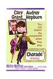 Charade - vaarallinen peli Posters