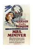 ミニヴァー夫人 ポスター