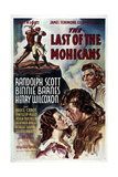 Le Dernier des Mohicans Posters