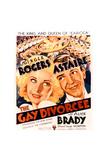 The Gay Divorcee Kunstdrucke