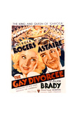 The Gay Divorcee Print