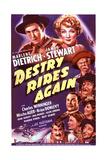 Destry Rides Again Plakater
