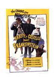 Bud Abbott Lou Costello Meet Frankenstein Art