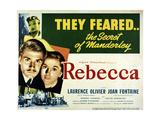 Rebecca, A Mulher Inesquecível Pôsters