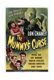 The Mummy's Curse Posters