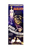 Frankensteins Braut Kunstdrucke