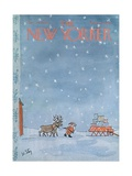The New Yorker Cover - December 24, 1966 Giclee Print by William Steig