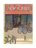 The New Yorker Cover - September 25, 1954 Giclée-Premiumdruck von Abe Birnbaum