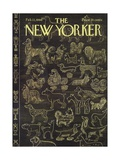 The New Yorker Cover - February 12, 1966 Premium Giclee Print by Anatol Kovarsky