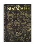The New Yorker Cover - February 12, 1966 Giclee Print by Anatol Kovarsky