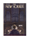 The New Yorker Cover - January 24, 1953 Premium Giclee Print by Constantin Alajalov