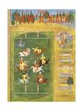The New Yorker Cover - September 21, 1963 Giclee Print by Anatol Kovarsky