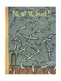 The New Yorker Cover - May 17, 1958 Reproduction procédé giclée par Abe Birnbaum