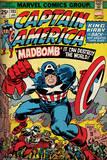 Marvel Retro - Captain America - Madbomb Stampe