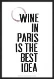 Drinks in Paris II Pôsteres por Deborah Velasquez