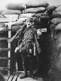 Charlie Chaplin, Shoulder Arms, 1918 Fotografisk tryk