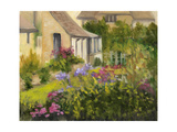 Cotswold Cottage II Affiches par Mary Jean Weber