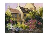 Cotswold Cottage V Poster von Mary Jean Weber