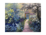 Cotswold Cottage VI Poster by Mary Jean Weber