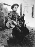 Charlie Chaplin, Shoulder Arms, 1918 Impressão fotográfica