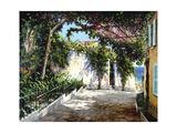 Positano Sunlight Art by Michael Swanson