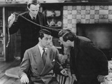 Peter Lorre, Cary Grant, Raymond Massey, Arsenic and Old Lace, 1944 Reproduction photographique