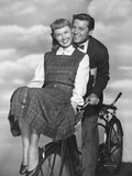 Doris Day, Gordon Macrae, On Moonlight Bay, 1951 Fotografisk tryk