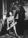Linda Darnell, Charles Bickford, Fallen Angel, 1945 Reproduction photographique