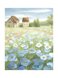 Blue Meadow Premium Giclee Print by Megan Meagher