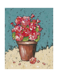 Bright Geraniums Premium Giclee Print by Jade Reynolds