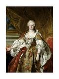 Elisabeth Farnese, Queen of Spain, Ca. 1739 Giclee Print by Louis-Michel van Loo