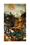 Inssenheim Altar: the Temptation of Saint Anthony, 1515 Giclée-tryk af Matthias Grünewald