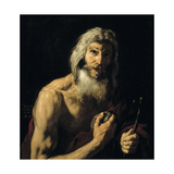 Penitent Saint Jerome, 1652 Giclee Print by Jusepe de Ribera