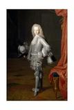 Louis I, Prince of Asturias, 1717 Lámina giclée por Michel-ange Houasse