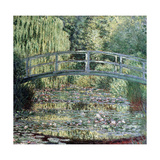 The Waterlily Pond: Green Harmony, 1899 Giclee Print by Claude Monet