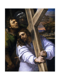 Jesus Carrying the Cross, Ca. 1516 Giclée-tryk af Sebastiano del Piombo