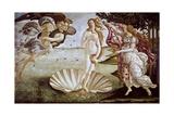 The Birth of Venus, Ca. 1485 Giclée-tryk af Sandro Botticelli