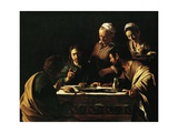 Supper at Emmaus, 1606 Giclée-vedos tekijänä  Caravaggio