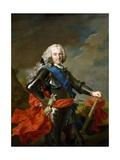 Philip V, King of Spain, Ca. 1739 Giclee Print by Louis-Michel van Loo