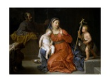 Holy Family with Saint John, Ca. 1723 Lámina giclée por Michel-ange Houasse