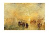 Going to the Ball (San Martino), 1846 Giclée-Druck von J. M. W. Turner