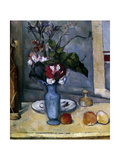 The Blue Vase, 1885-1887 Giclee Print by Paul Cézanne