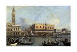 Ducal Palace, Venice, 1755 Impressão giclée por  Canaletto
