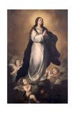 The Immaculate Conception Gicléedruk van Manuel Gomez Moreno Gonzalez