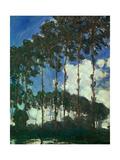Poplars on the Epte, 1891 Reproduction procédé giclée par Claude Monet