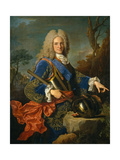 Felipe V, 1723 Giclee Print by Jean Ranc