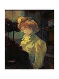 La Modiste, 1900 Lámina giclée por Henri de Toulouse-Lautrec